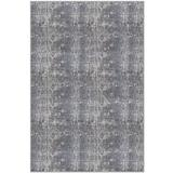 Schumacher Harlyn Runner Machine Made Charcoal/Ivory Indoor Use Only Area Rug Wool in Brown/Gray, Size 120.0 H x 96.0 W x 2.0 D in | Wayfair