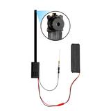 Nano 4K - Ultra HD WIFI Nanny Cam D.I.Y Self-Install Camera Kit with Button Camera Attachments