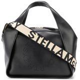 Mini Stella Logo Tote Bag - Black - Stella McCartney Totes