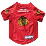 """""""Little Earth Red Chicago Blackhawks Pet Stretch Jersey"""""""