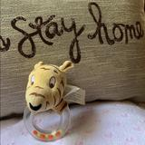 Disney Other | 5.5 Disney Tiger Baby Rattle Used | Color: Cream/Tan | Size: 5.5