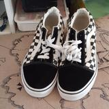 Vans Shoes | Brand New Kids Checkerboard Van'S Size 3 | Color: Black/White | Size: 3bb