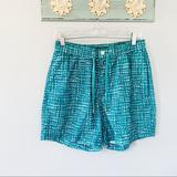 Michael Kors Swim   Michael Kors Board Shorts Swim Trunks Size Medium   Color: Green/White   Size: M
