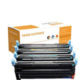 Compatible Toner Cartridges Replacement for HP Q6000A 124A 1600 2600N 2605 CM1015 1017 Toner Cartridge for HP1600 2600 2600N 2605 2605DN 2605DTN CM1015 1017 Toner,4 Colors