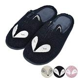 Tuiyata Black Cute Animal Slippers for Women Mens Winter Warm Memory Foam Cotton Home Slippers Soft Plush Fleece Slip on House Slippers for Girls Indoor Outdoor Shoes
