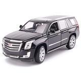 Die-Cast Vehicles 1:24 Die-cast Car/Compatible with Cadillac Escalade/Car Model Simulation Alloy Car Model Collection Decoration Black (Color : Black)