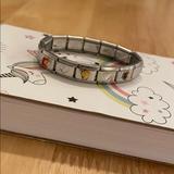 Disney Accessories   Disney Princesses Stainless Steel Charm Bracelet   Color: Silver   Size: Osg