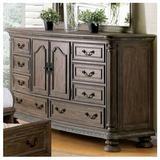 "Andrew Home Studio Hohberg Dresser, Wood in Brown, Size 38""H X 66""W X 21""D | Wayfair GFF76NT61D-R3DF"
