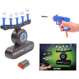 TOYOUNGUP Shot Floating Target Game, Foam Dart Blasters Set Air-sh-ot Shooting Game with 3 Shooting Darts & 10 Soft Floating Balls, Best Gifts for Boys and Girls Target Practice Toys (Shot Toy-B)