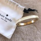 Kate Spade Jewelry | Kate Spade White & Gold Bracelet | Color: Gold/White | Size: Os