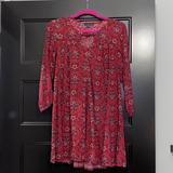 American Eagle Outfitters Dresses | American Eagle Patterned Babydoll Dress | Color: Blue/Red | Size: S