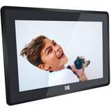 """Kodak 10"""" Digital Picture Frame with Wi-Fi and Multi-Touch Display (Matte Black) RCF-106 BLACK"""