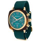 Clubmaster Classic Chrono 40mm - Green - Briston Watches