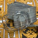 J. Crew Accessories | J. Crew Camo And Acrylic Buckle Belt | Color: Gray/Tan | Size: Ml