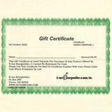 K. van Bourgondien Gift Certificate