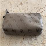 Dooney & Bourke Bags   Dooney & Bourke Cosmetic Bag   Color: Brown/Tan   Size: 4 X 6