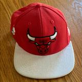 Adidas Accessories | Chicago Bulls Hat | Color: Red | Size: Os