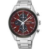 Seiko Chronograph Quartz Red Dial Men's Watch SSC771P1