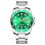 Original Watches for Men,Fashion Luxury Classic Quartz Analog Watches with Date,Analog Dial, Quartz Movement - Mens Watches Collection (Sliver)