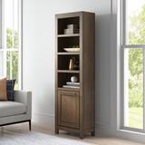 Latitude Run® Depalma Standard Bookcase Wood in Brown, Size 78.5 H x 24.0 W x 13.0 D in   Wayfair 1D975F70A5D94B13AC72418AD96BD5F5