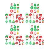 TOYANDONA Christmas Holiday Gift Tags Merry Christmas Tree Ornaments Decor Holiday Wrapping Package Christmas Pendant Hanging Tag Winter Decor 108pcs