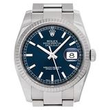 Certified Pre-Owned Rolex Datejust Reference 116234 Watch. Comes with No Box or Papers. Watch is as is