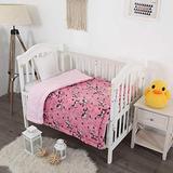 "Bedding Haus Kids Throw Blanket - Super Plush Soft Warm Blanket Sherpa Backing - 40"" x 50"" - Blanket for Kids Toddlers Baby - Multicolor - Unicorn Print - Pink - (Sherpa, Unicorn)"