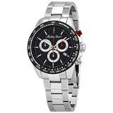 Mathey-Tissot Chronograph Quartz Black Dial Men's Watch H9010CHAN