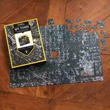 Customized aerial jigsaw puzzle, 'My Town'