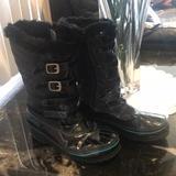 Disney Shoes   Disney Liv&Maddie Snow Boots   Color: Black/Blue   Size: Various
