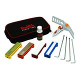 Smith's Consumer Products Camp & Hike Diamond/Arkansas Stone Precision Sharpening System