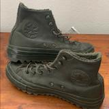 Converse Shoes   Converse Leather Snow Boots   Color: Green   Size: 7.5