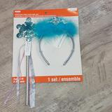 Disney Costumes | Frozen Theme Fairy Headband 3ys To Adult | Color: Blue/Silver | Size: 3yr To Adult