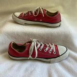 Converse Shoes   Converse Unisex Chuck Taylor Low Tops   Color: Red   Size: 8