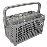 Dishwasher Basket,2 In 1 Portable Universal Dishwasher Silverware Replacement Basket with 7 compartments,for Bosch/Maytag/Kenmore/Whirlpool/KitchenAid, Etc