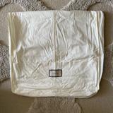 Gucci Storage & Organization | Gucci Authentic Medium Fabric Garment Bag New | Color: Cream/White | Size: Medium