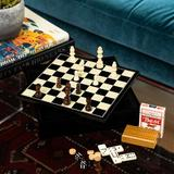 Trinx 7 Piece Multi-Game Set Wood in Brown, Size 2.25 H x 11.5 W x 11.5 D in | Wayfair G550