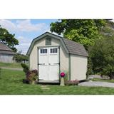 Little Cottage Company Colonial Greenfield 10 ft. W x 18 ft. D Solid + Manufactured Wood Storage Shed in Brown/Gray/White | Wayfair 10x18 GCGS-WPNK