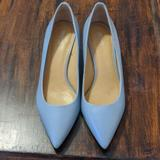 Michael Kors Shoes | Michael Kors Baby Blue Kitten Heel | Color: Blue | Size: 9.5