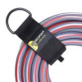 Extension Cord Organizer for Garage Organization and Storage (8 Packs, Large Size) Heavy Duty Cord Storage Straps for Hoses, Hopes, RV fit with Garage Hooks