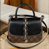 Louis Vuitton Bags | Authentic Louis Vuitton Chain It Handbag | Color: Brown/Tan | Size: Approximately 8 Wide By 4 Deep By 6 Tall