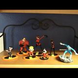 Disney Holiday | Incredibles Ornaments | Color: Black/Red | Size: Os