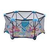 BELIFEGLORY kids Baby Playpen Safey Gate, Metal, Size Long | Wayfair LZDWL06911B