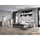 Williston Forge Machen 3 - Piece Bar Height Dining SetMetal in Black/Gray, Size 41.3 H x 23.6 W x 23.6 D in | Wayfair