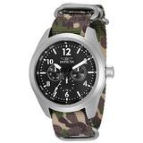Invicta Men's Coalition Forces Quartz Nylon Band Watch, Camouflage, 33627