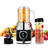 Portable Mini Blenders, Personal Smoothies Blender For Shakes And Smoothies Makers, Single Serve Smoothies, Smoothies Maker With 20oz Travel &Lids