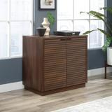 Loon Peak® Englewood 1 - Shelf Storage Cabinet Wood in Brown, Size 29.252 H x 30.866 W x 19.291 D in | Wayfair 51FF9FBC27F54A17A75D525E0660D1D8