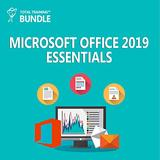 Microsoft Office 2019 - Essential Training Bundle [PC/Mac Online Code]