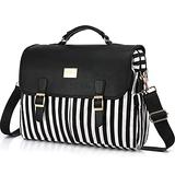 LOVEVOOK Laptop Bag for Women Large Computer Bags Cute Messenger Bag Briefcase Business Work Bags Purse, 15.6inch, Black Pro
