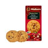 Walkers Shortbread Cookies - Gluten-Free Oat & Cranberry Cookies